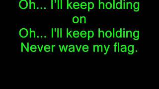 Mary Mary  - Never Wave My Flag With Lyrics (Something Big Album)