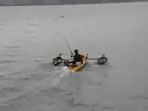 Lucio fishes back creeks on a flatstalker part2 funnydog tv for Fissot fishing kayak