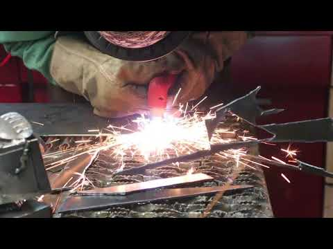 DIY Metal Sculpture How To Build a Snow Speeder Out Of Metal
