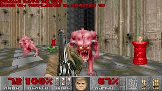 Playing The Ultimate Doom (in PrBoom-plus, FluidSynth, Patch93 v2.2 SoundFont)
