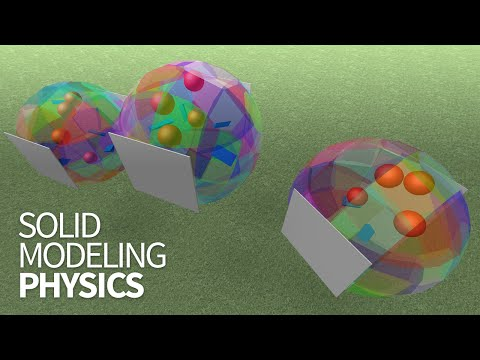 Solid Modeling Physics Demo