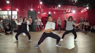 Bailey Sok, Tati McQuay & Charlize Glass| Burn up the dance | Choreography by Kyle Hanagami