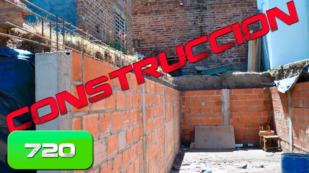 Como construir un garage subterr neo parte 2 la - Cuanto cuesta el material para construir una casa ...