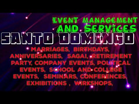 SANTO DOMINGO   Event Management 》Catering Services ◇Stage Decoration Ideas ♡Wedding Arrangements ♡