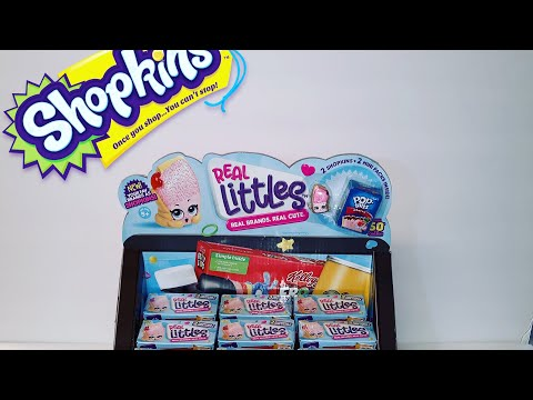 Shopkins Real Littles | 2 pack Unboxing
