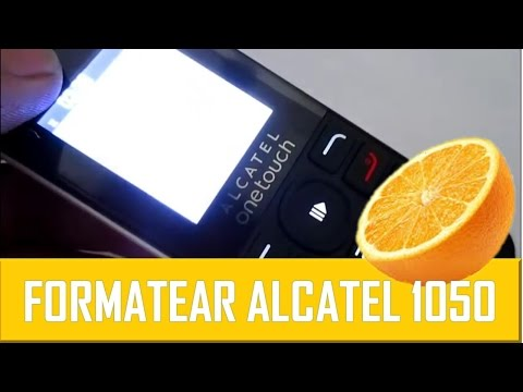 Formatear Alcatel OneTouch 1050