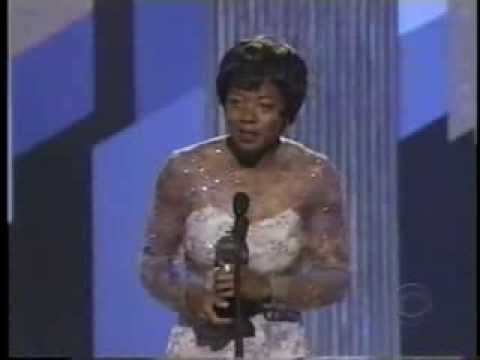 Viola Davis wins 2001 Tony Award for Best Featured Actress in a Play