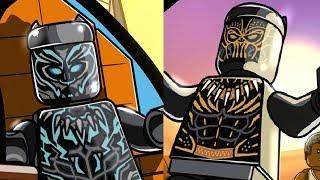 Black Panther Movie Level Pack DLC - LEGO Marvel Super Heroes 2