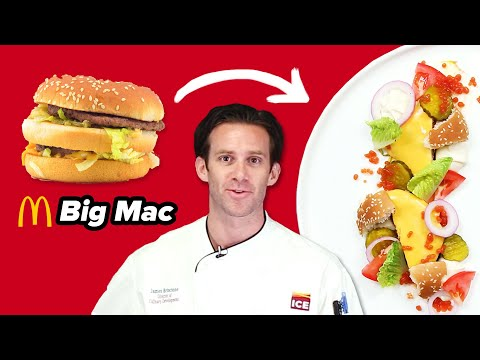 Gourmet Chef Makes A Big Mac Super Fancy