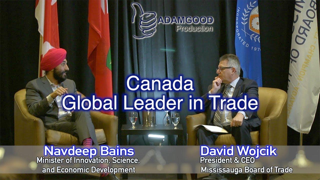 Navdeep Bains & David Wojcik - Canada, Global Leader In ...