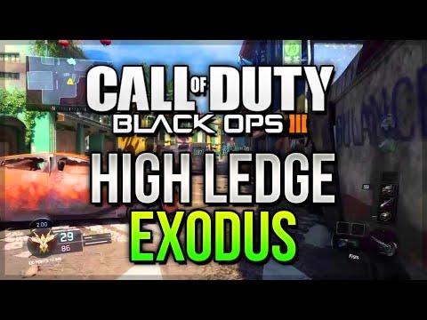 "COD BO3 Glitches - ""HIGH LEDGE ON EXODUS MULTIPLAYER"" (PS4,XBOX ONE)"
