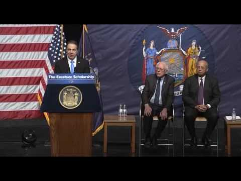 Governor Cuomo Announces SOTS Proposal: Making College Tuition-Free for Middle Class New Yorkers