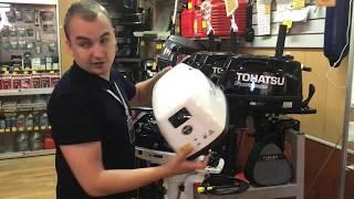 Обзор: лодочный мотор Tohatsu MFS 5C LPG S пропан