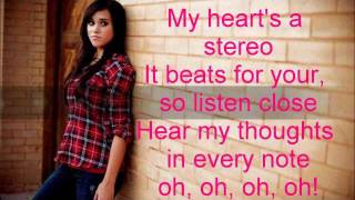 Stereo Hearts (Cover) by: Megan Nicole (lyrics)