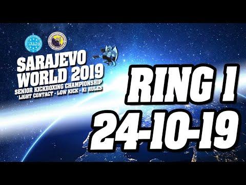 WAKO World Championships 2019 Ring 1 24/10/19