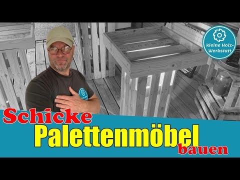 schicke-palettenmöbel-bauen-⎜stehtisch-⎜ladeneinrichtung⎜kleine-holzwerkstatt