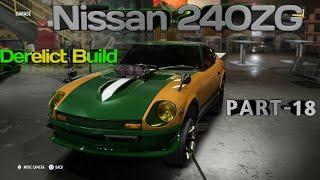 NISSAN Fairlady ZG 1971 - Derelict Build - Super Build (Drag Spec) & Diamond Block - NFS PAyback