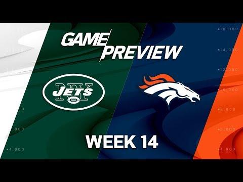 New York Jets vs. Denver Broncos   NFL Week 14 Game Preview