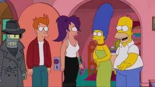los simpsons ft futurama captulo completo original