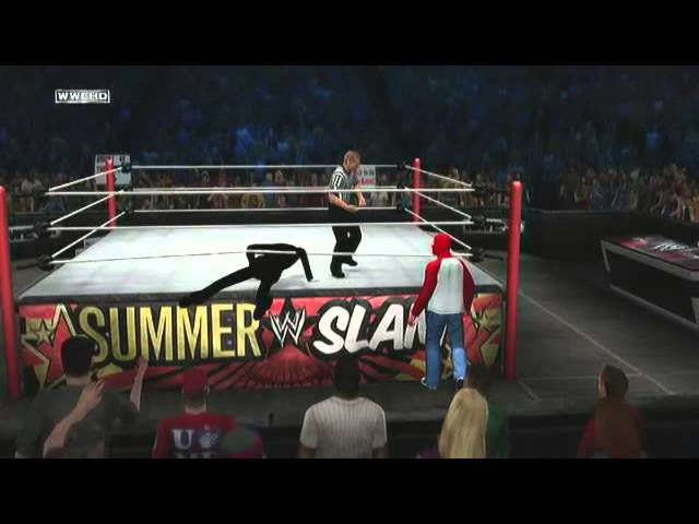 WWE Fights! Spiderman VS. Slender Travel Video