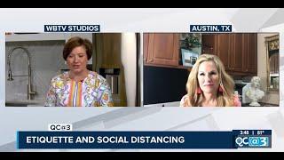 Etiquette Expert Sharon Schweitzer on WBTV's QC Life