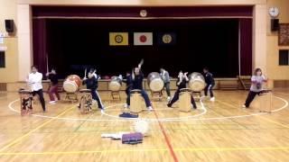 本町小学校大人練習 3