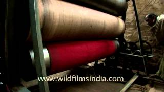 Banarasi handloom saree weaving process - Varanasi