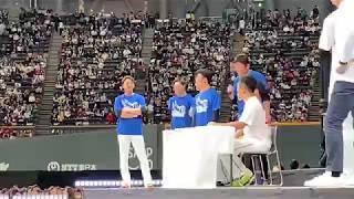 日ハム ファン感 中島卓也 宮西尚生 清宮幸太郎 谷口雄也.