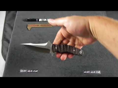 BB0123M Bad Blood Mosier Wisper Fixed Blade