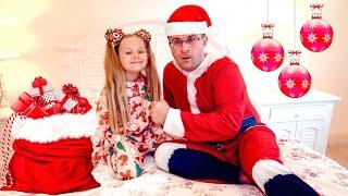 Diana y Papá se preparan para Navidad