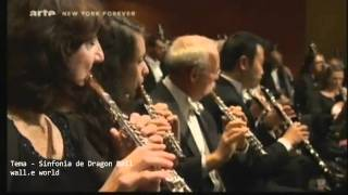 DRAGON  BALL  Z  SINFONIA Nr. I   Orquesta Sinfonica en  VIVO  2011  Instrumental en  New York