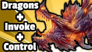 Dragons + Galakrond + Control = VALUE - Hearthstone Descent Of Dragons