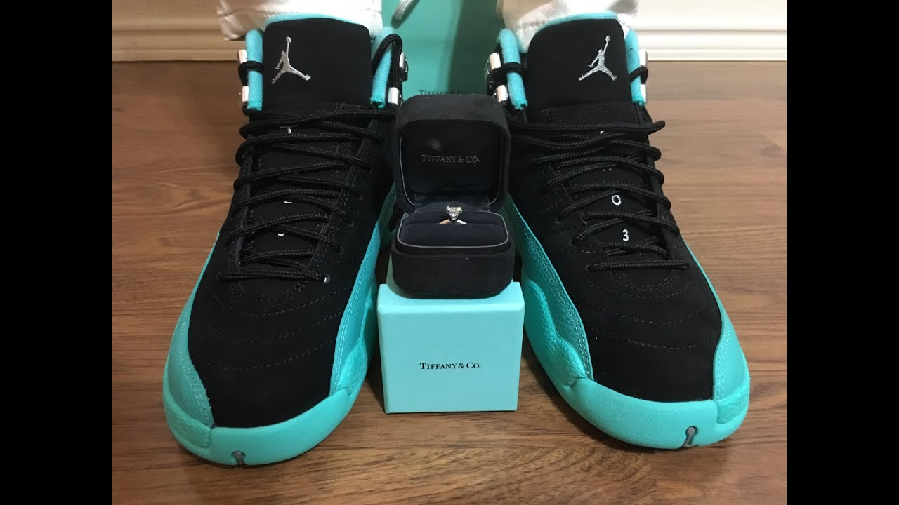 low priced e8562 4bfaa Wife's Jordan Retro 12 Hyper Jade