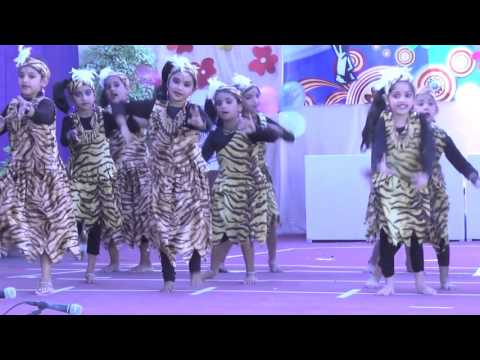 Ambum Kombum   Tribal dance by vaiga krishnakumar & team
