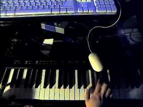 Kanye West Flashing Lights Piano Tutorial - YouTube