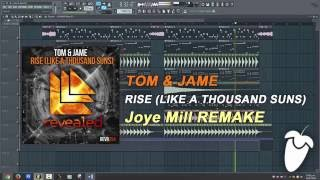 Tom Jame Rise Like A Thousand Suns FL Studio Remake FLP