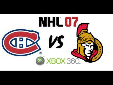 NHL 07 - Montreal Canadiens vs. Ottawa Senators