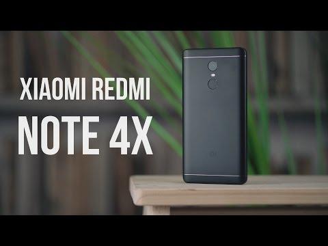 Черный Xiaomi Redmi Note 4X. Распаковка, первое впечатление, тест камер.