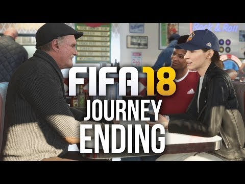 FIFA 18 The Journey ENDING Gameplay Walkthrough - REAL MADRID ??? (Full Game)