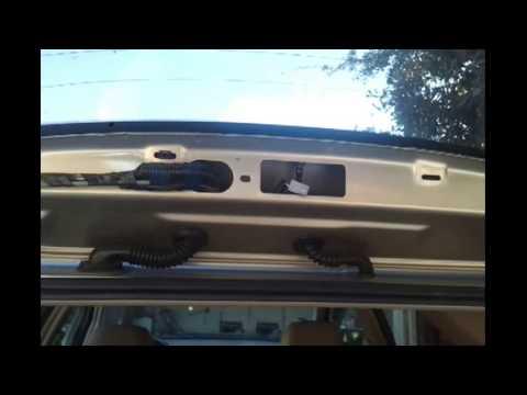 2003 Lexus Rx300 Third Brake Light Bulb Replacement Repair
