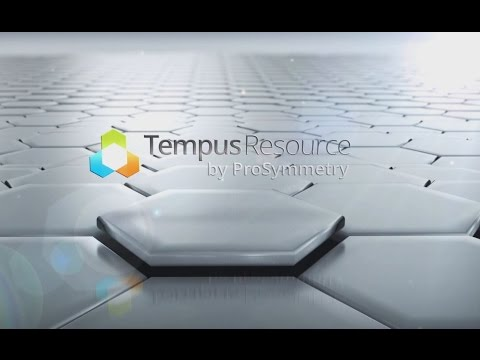Tempus Resource - Power up your resource planning