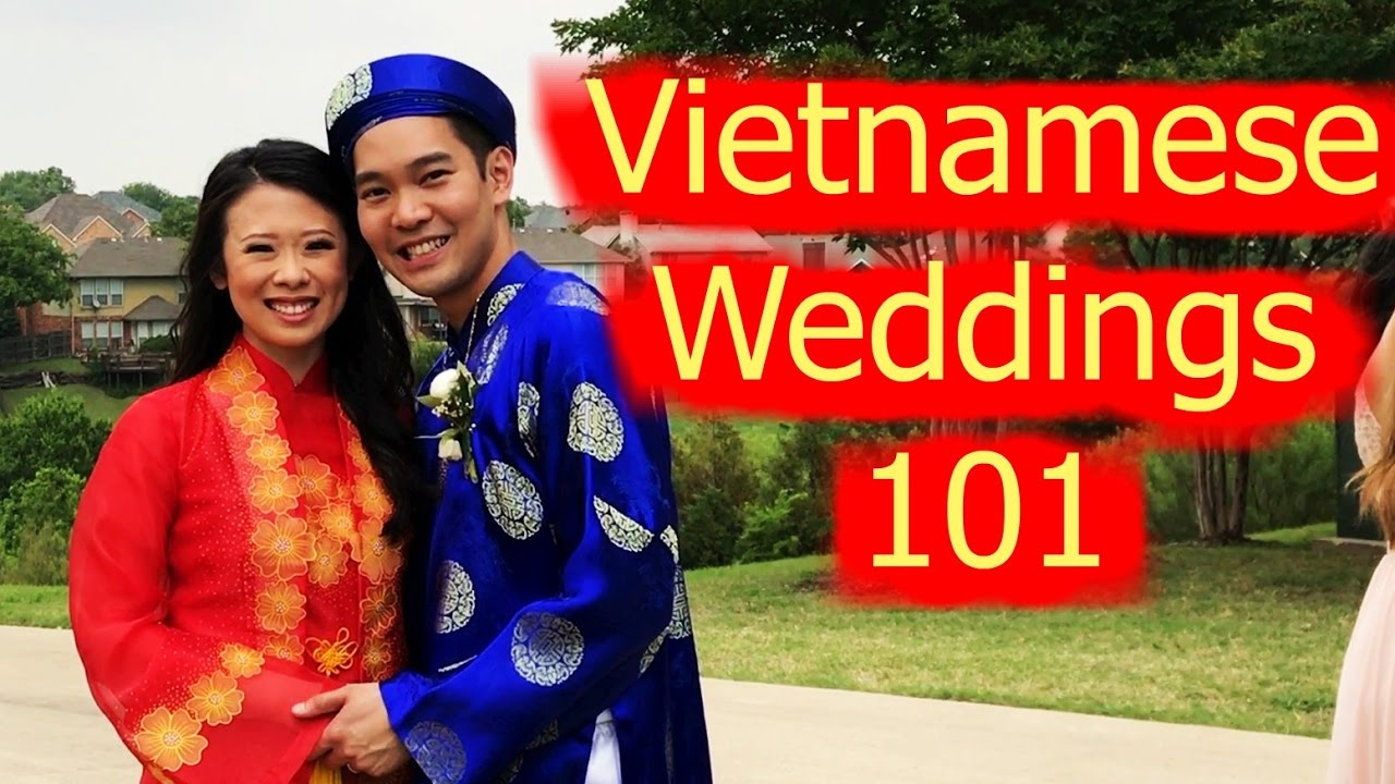0133bc53ddd What to Expect at a Vietnamese Style Wedding - YouTube
