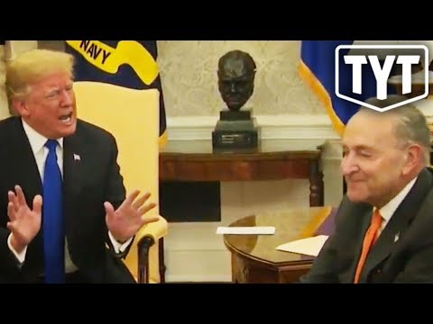 Trump's Public FREAK OUT On Chuck Schumer
