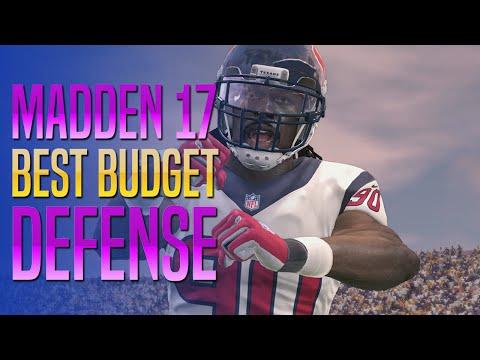 Madden 17 - Best Gold Budget Defense In MUT!