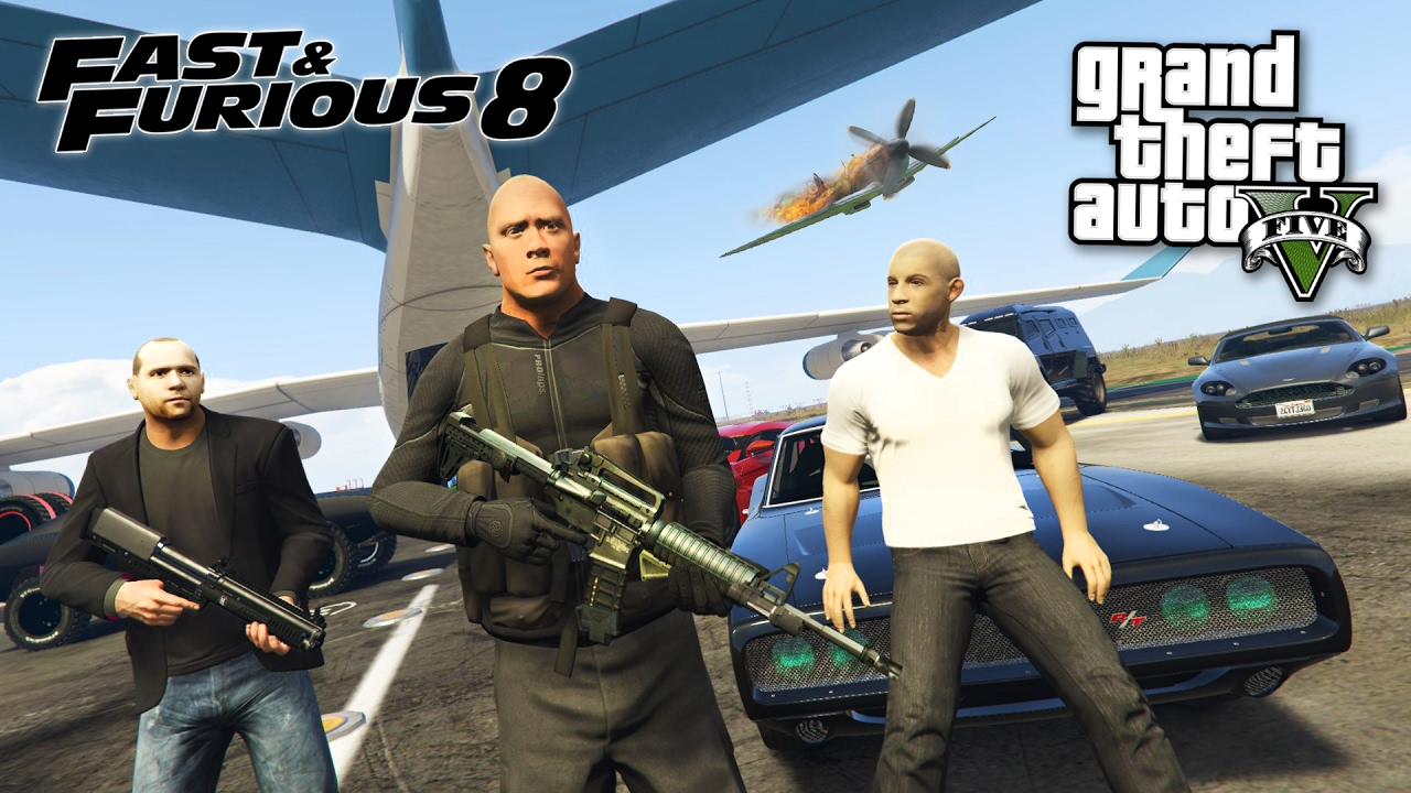 Fast Furious 8 The Fate Of The Furious Gta 5 Mods Youtube