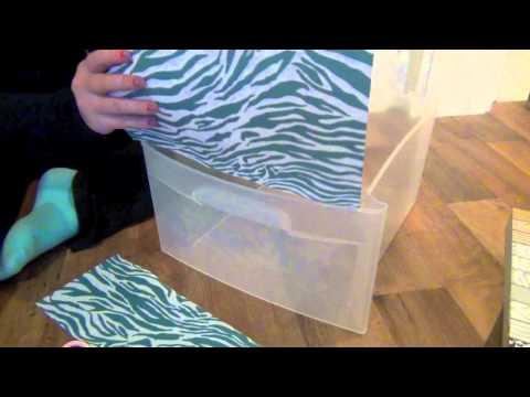 Diy Decorating Plastic Bins