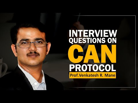Interview Question On CAN Protocol
