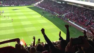 The City Ground Nottingham Forest FC Mull of Kintyre vs Derby 2013