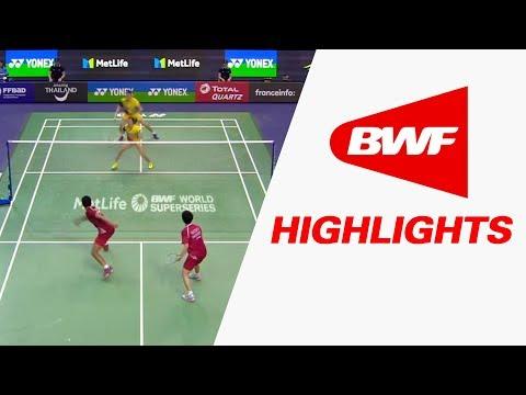 Yonex French Open 2017 | Badminton QF – Highlights