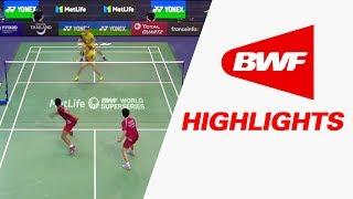 yonex french open 2017   badminton qf highlights